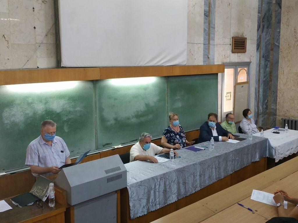 На факультеті відбувся Єдиний державний кваліфікаційний іспит